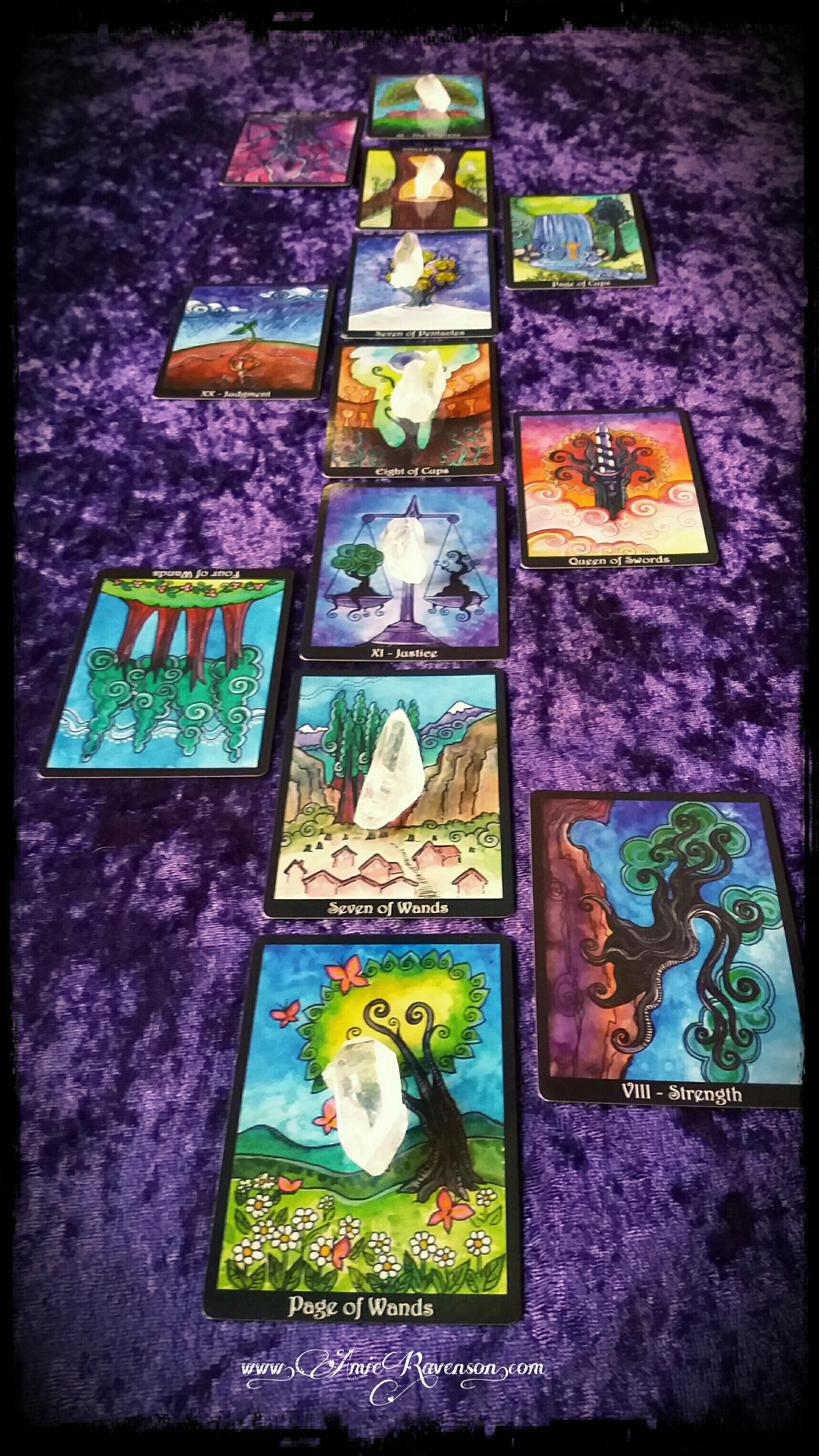 Kundalini/Chakra Tarot Reading- What's blocking my energy?